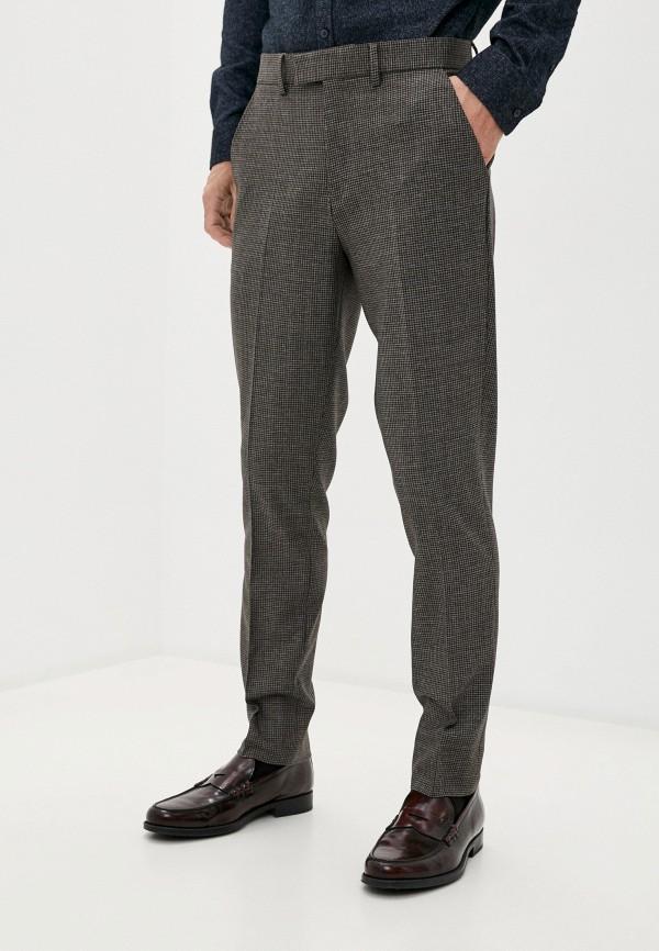 мужские классические брюки casual friday by blend, коричневые