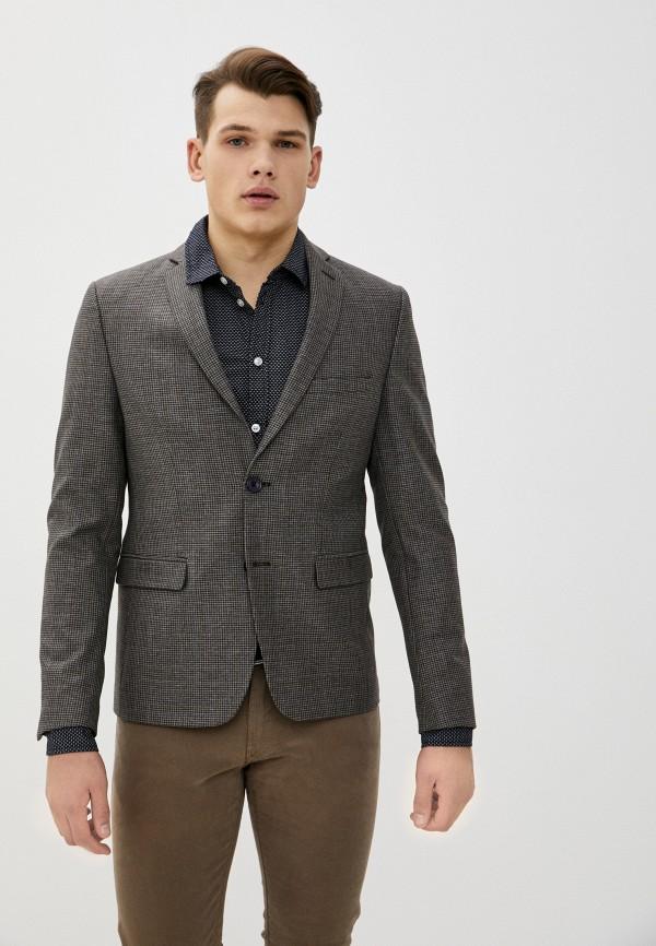 мужской пиджак casual friday by blend, коричневый