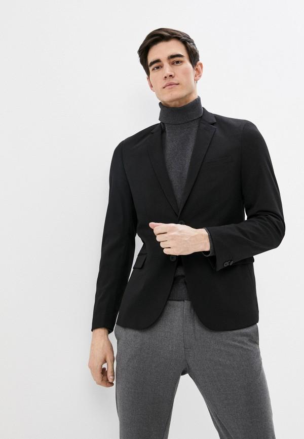 мужской пиджак casual friday by blend, черный