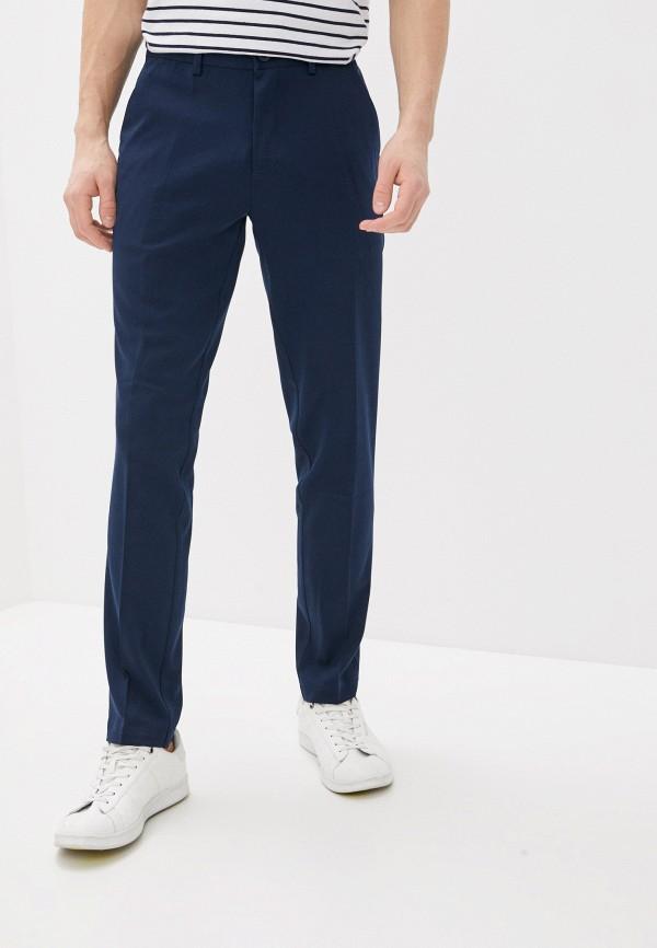 мужские классические брюки casual friday by blend, синие