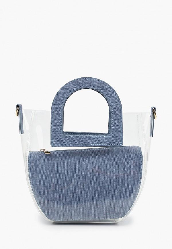женская сумка call it spring, голубая
