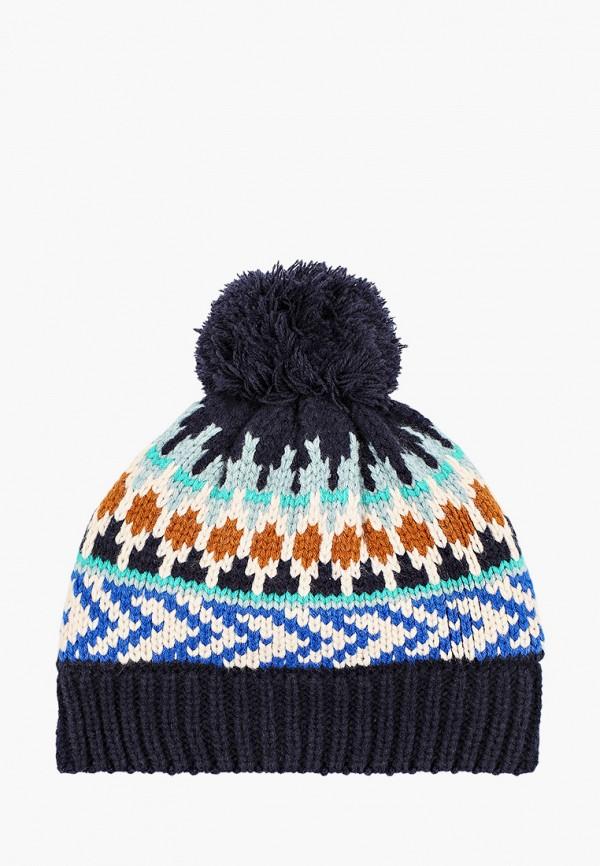 шапка catimini для мальчика, разноцветная