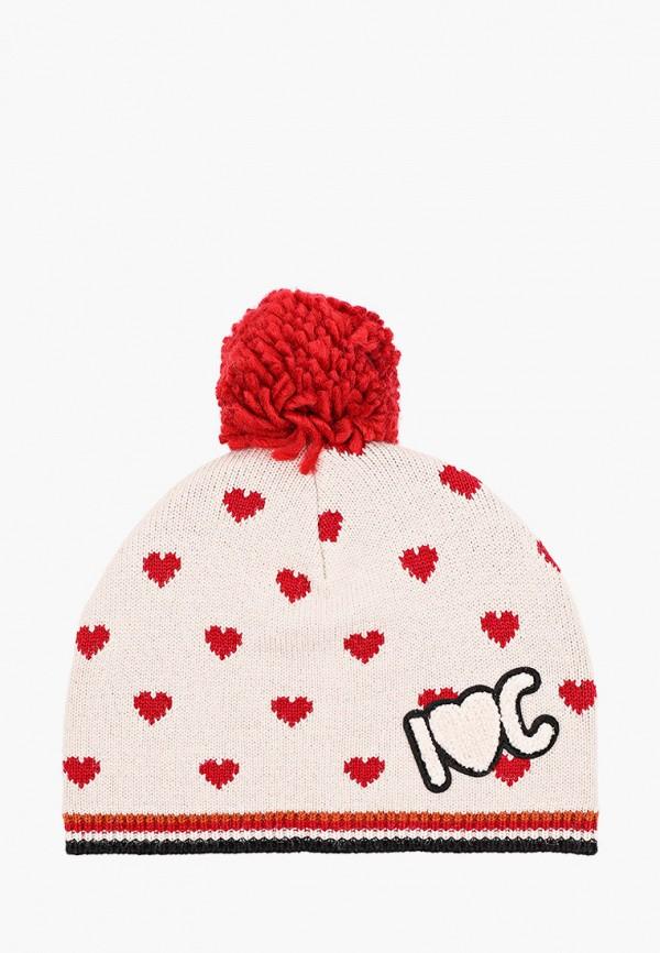 шапка catimini для девочки, бежевая