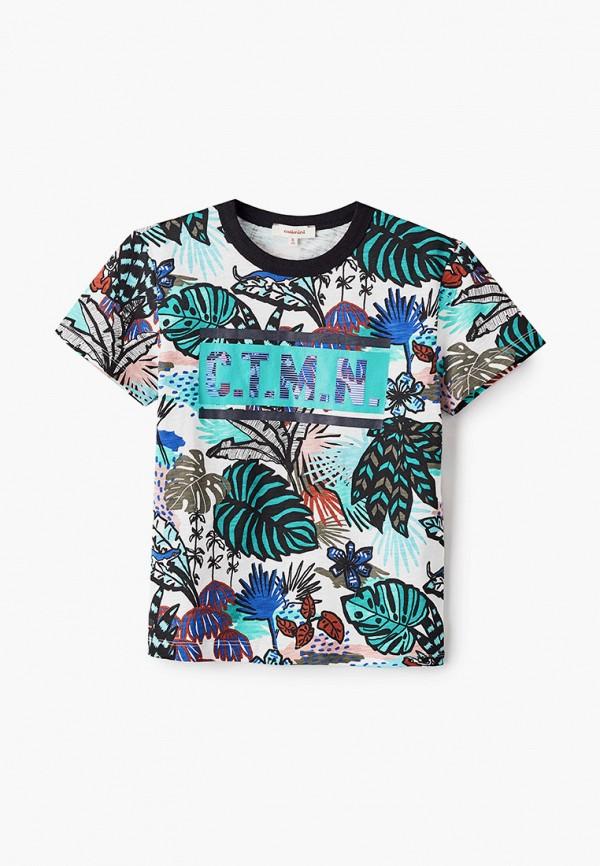 футболка с коротким рукавом catimini для мальчика, разноцветная