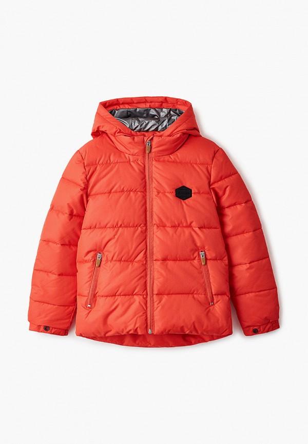 куртка catimini для мальчика, красная