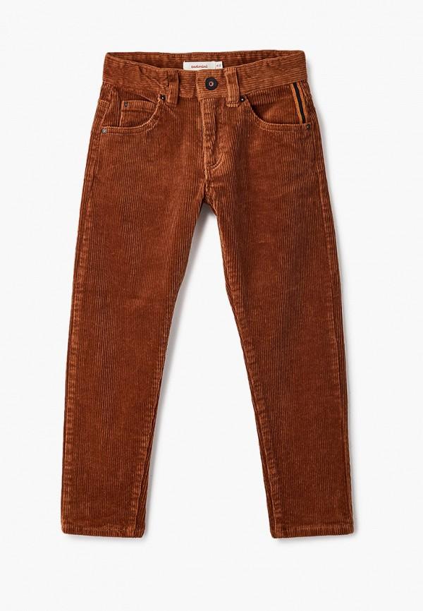 брюки catimini для мальчика, коричневые