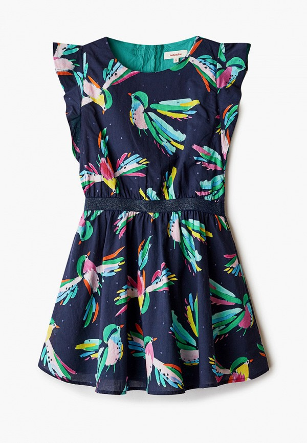 повседневные платье catimini для девочки, синее