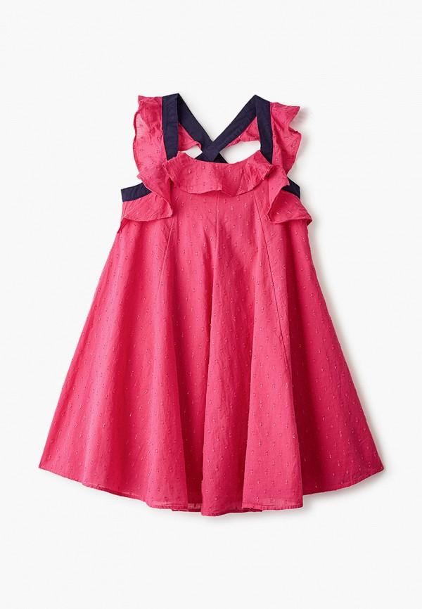 повседневные платье catimini для девочки, розовое