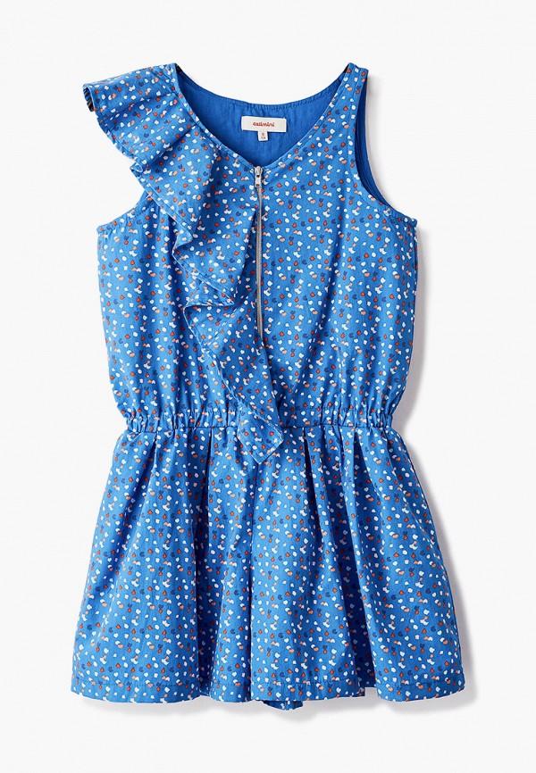 комбинезон catimini для девочки, синий