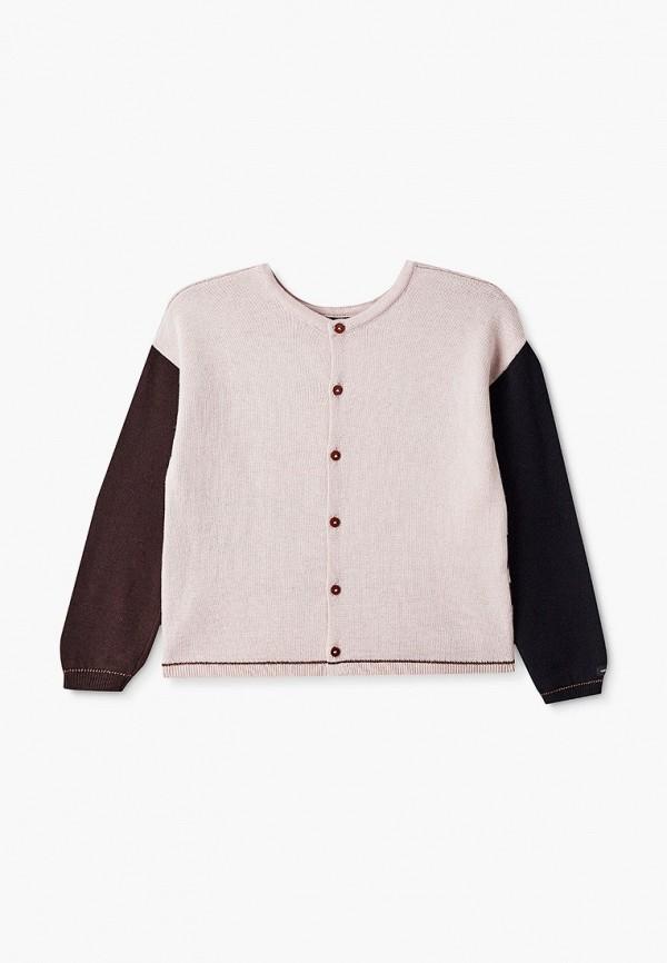 кардиган catimini для девочки, розовый
