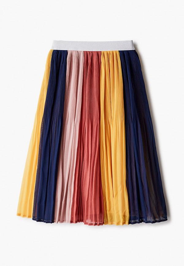 юбка catimini для девочки, разноцветная
