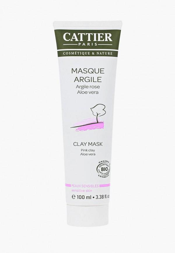 Купить Маска для лица Cattier, на основе розовой глины для чувствительной кожи, ca061lwflk63, Осень-зима 2018/2019