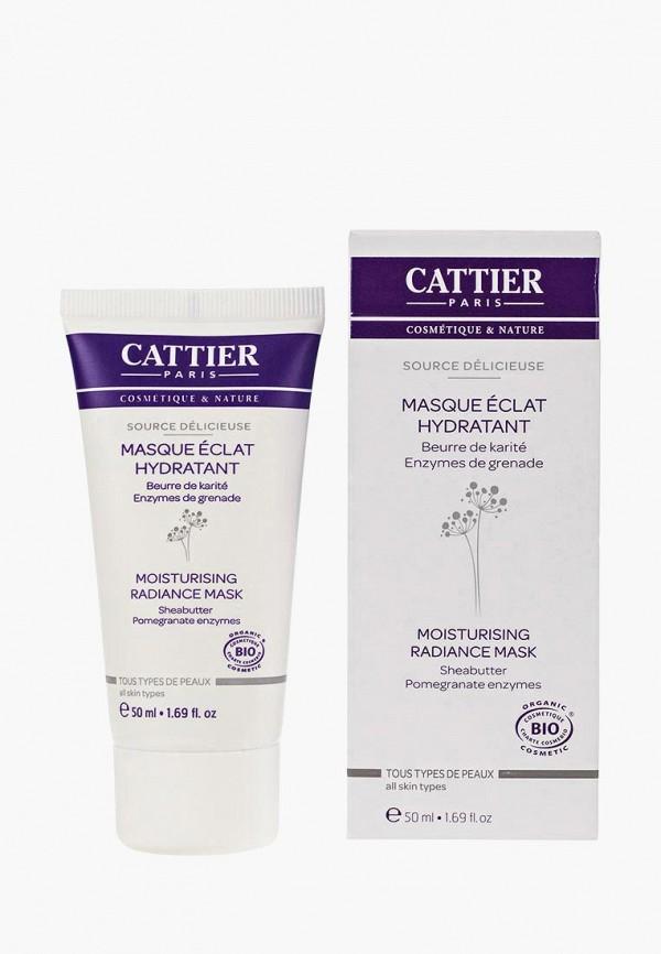 Купить Маска для лица Cattier, Увлажняющая Мгновенное сияние для кожи любого типа, 50 мл, ca061lwflk65, Осень-зима 2018/2019