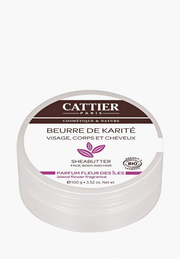 Купить Масло для тела Cattier, Карите с ароматом цветов (100 г), ca061lwfvmp0, прозрачный, Весна-лето 2019