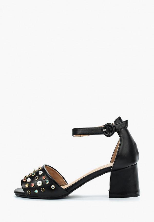 женские босоножки catisa, черные