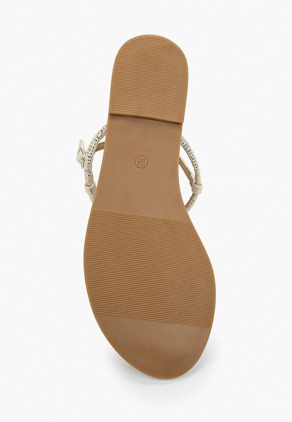Фото 3 - женские сандали Catisa бежевого цвета