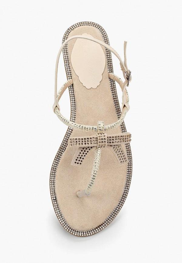 Фото 4 - женские сандали Catisa бежевого цвета