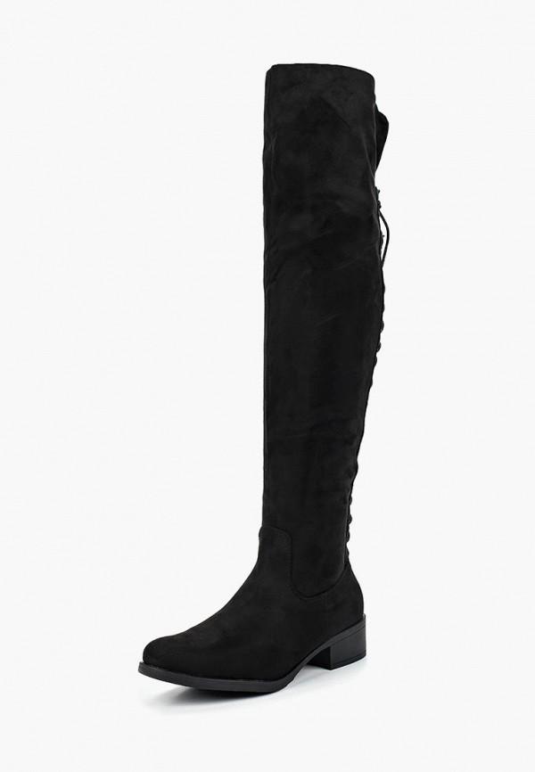 женские ботфорты catisa, черные