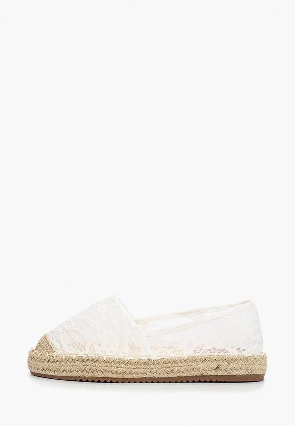 женские эспадрильи catisa, белые
