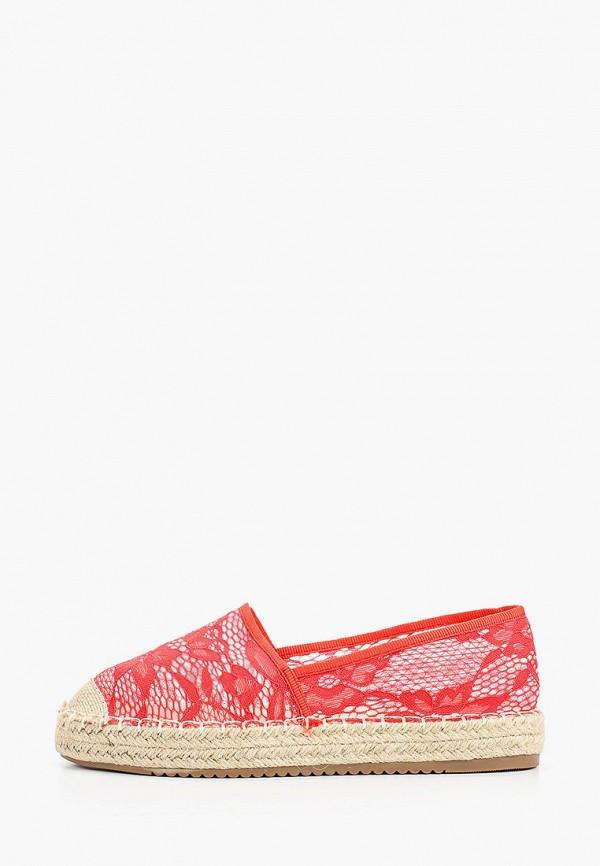 женские эспадрильи catisa, красные