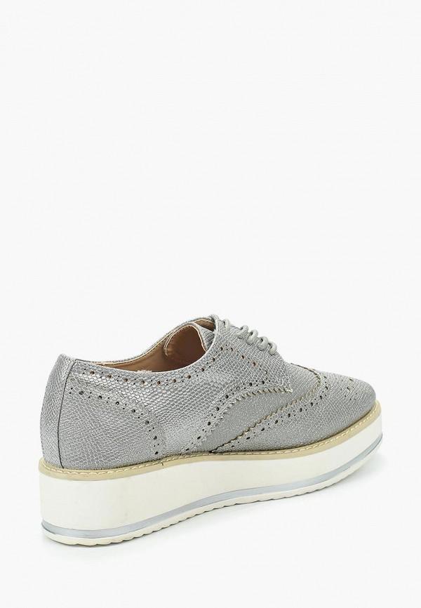 Фото 12 - женские ботинки и полуботинки Catisa серебрянного цвета