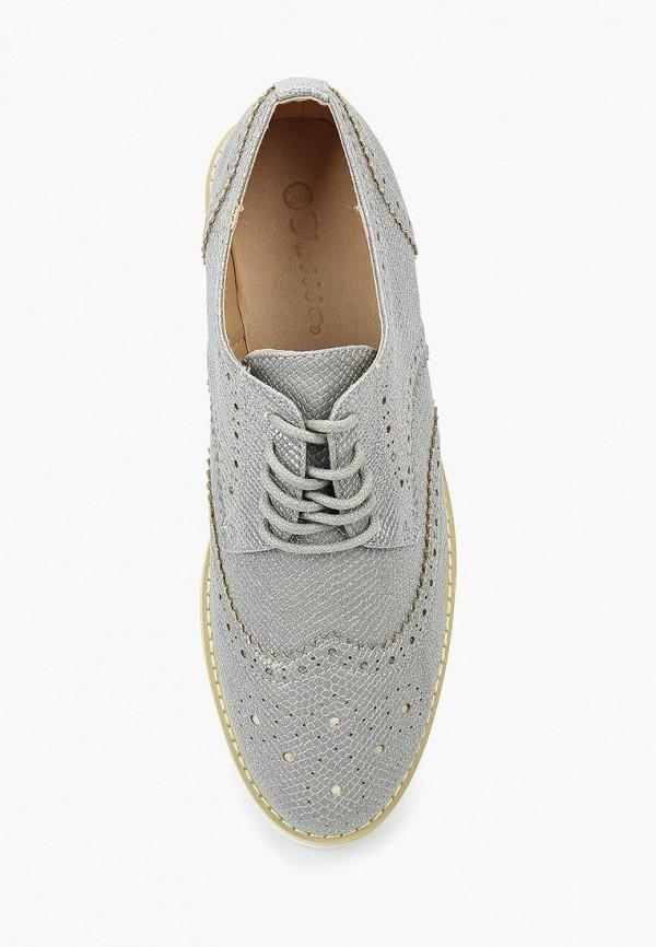 Фото 14 - женские ботинки и полуботинки Catisa серебрянного цвета