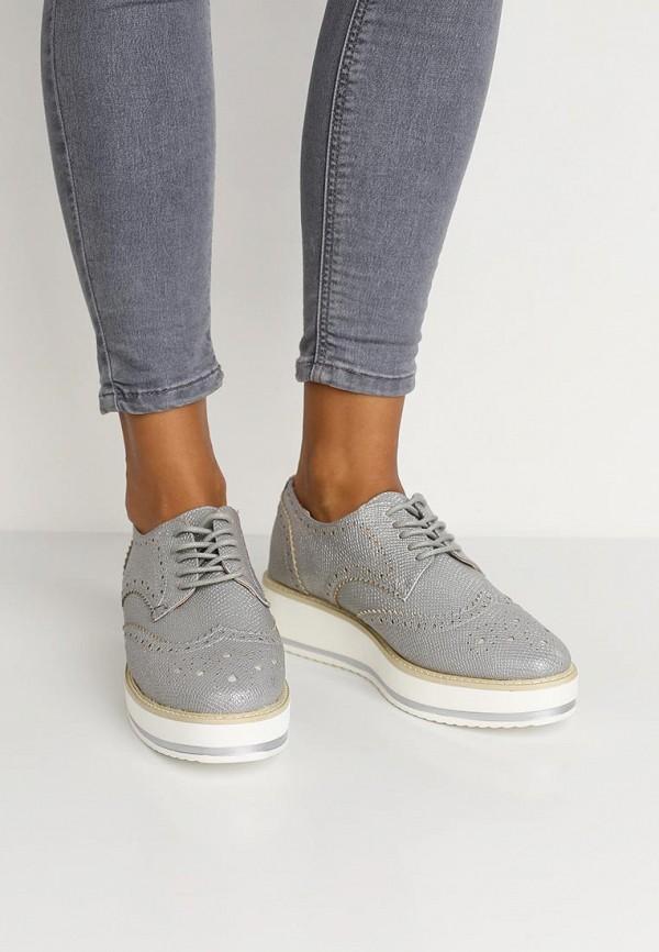 Фото 15 - женские ботинки и полуботинки Catisa серебрянного цвета