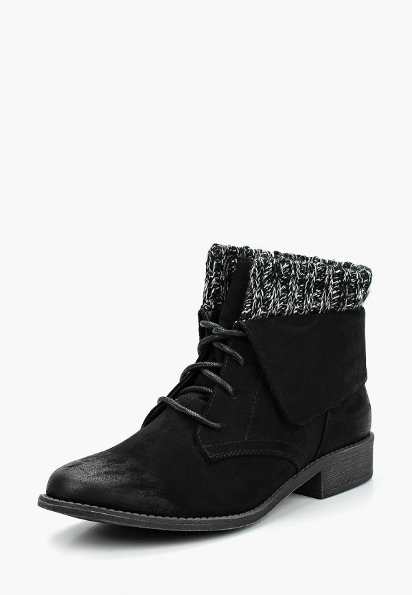 Купить Ботинки Catisa, ca072awygi26, черный, Осень-зима 2017/2018