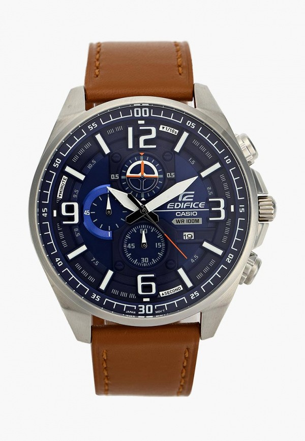 Купить Часы Casio, CASIO EDIFICE EFR-555L-2A, ca077dmacfj7, коричневый, Осень-зима 2018/2019
