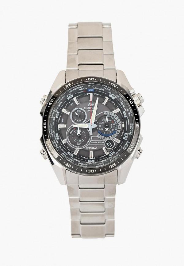 Купить Часы Casio, CASIO EDIFICE EQS-500DB-1A1, CA077DMACFJ9, серебряный, Осень-зима 2018/2019