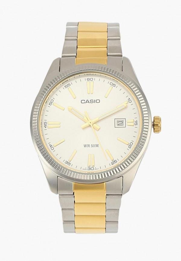 Купить Часы Casio, CASIO Collection MTP-1302PSG-7A, ca077dmavco1, серебряный, Весна-лето 2019