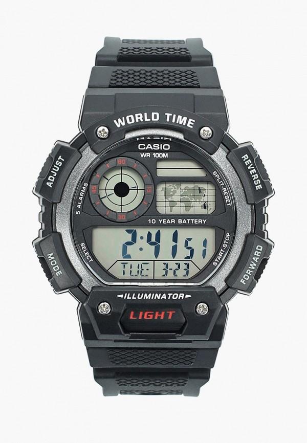 Купить Часы Casio, CASIO Collection AE-1400WH-1A, ca077dmbijw7, черный, Осень-зима 2018/2019