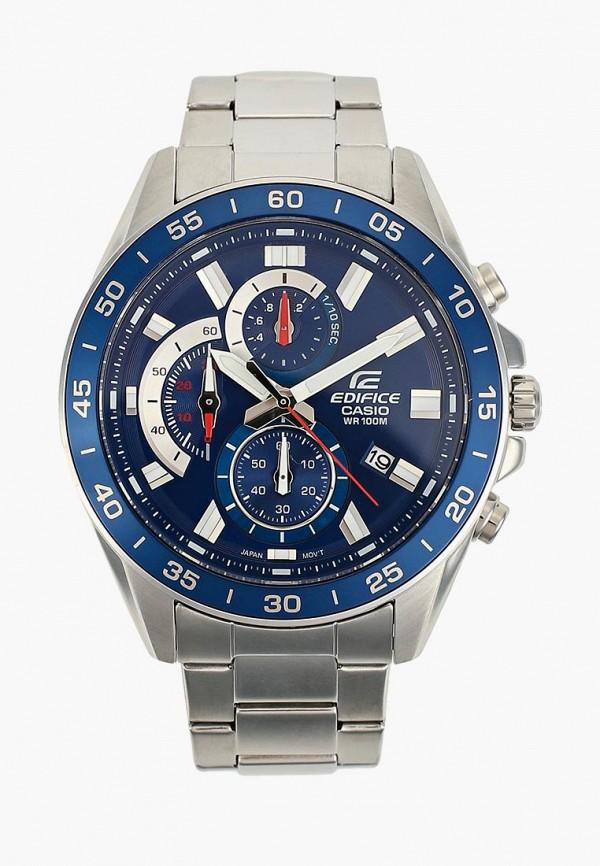 Купить Часы Casio, CASIO EDIFICE EFV-550D-2A, ca077dmcfxv1, серебряный, Осень-зима 2018/2019