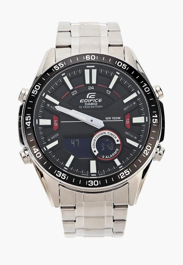 Купить Часы Casio, Casio EDIFICE EFV-C100D-1A, ca077dmcqik7, серебряный, Осень-зима 2018/2019