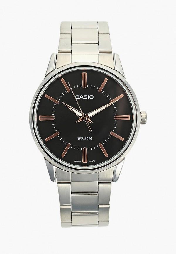 Купить Часы Casio, CASIO Collection MTP-1302PD-2AVEF, ca077dmczww4, серебряный, Осень-зима 2018/2019