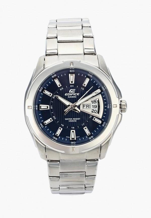 Купить Часы Casio, EDIFICE EF-129D-2A, ca077dmgxx39, серебряный, Осень-зима 2018/2019