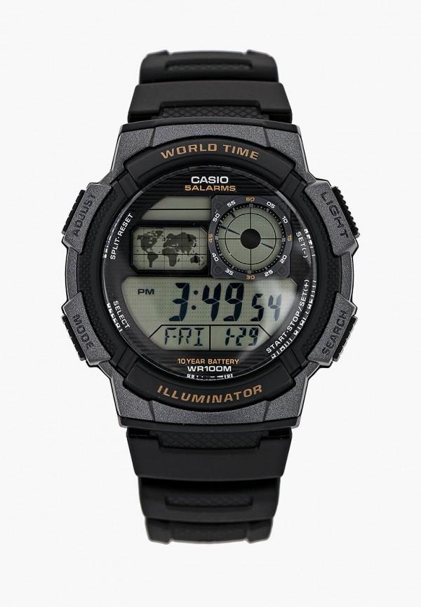 Купить Часы Casio, Casio Collection AE-1000W-1A, ca077dmhsv13, черный, Осень-зима 2018/2019