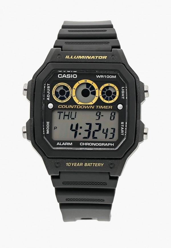 Купить Часы Casio, Casio Collection AE-1300WH-1A, ca077dmhsv16, черный, Весна-лето 2019