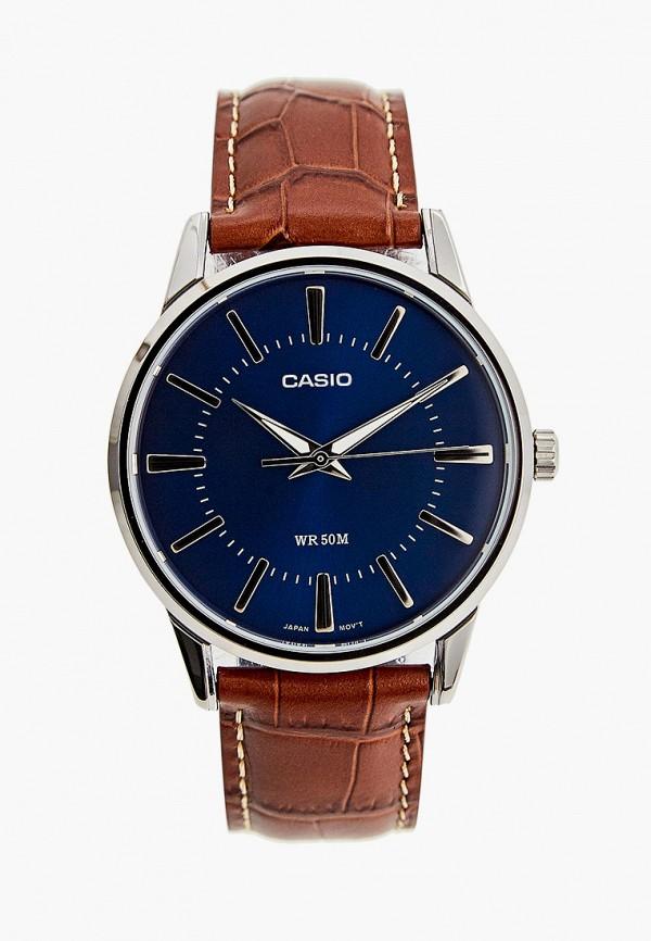мужские часы casio, коричневые