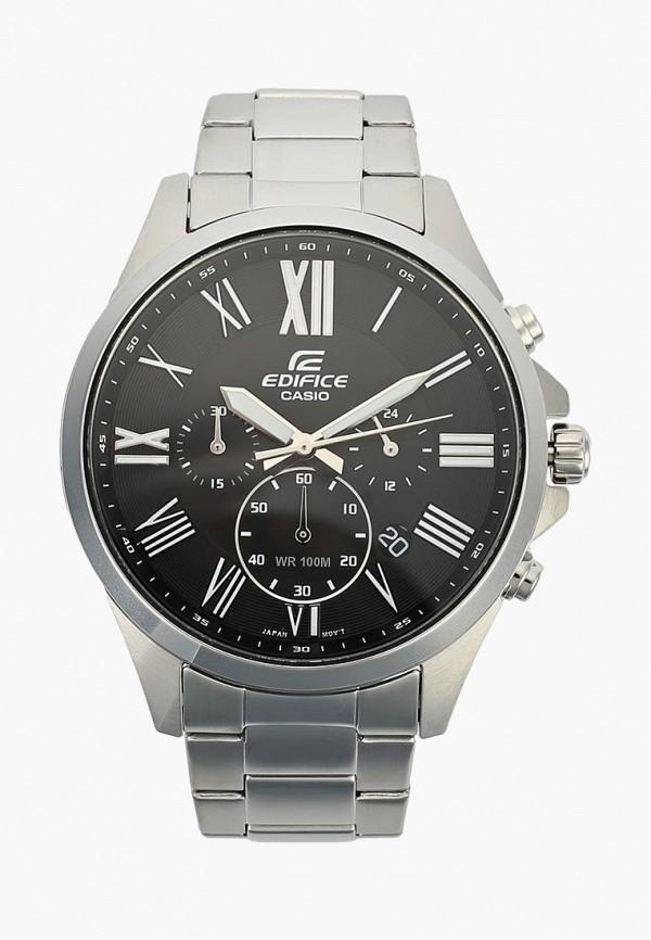 Купить Часы Casio, Casio EDIFICE EFV-500D-1A, CA077DMTSR55, серебряный, Осень-зима 2018/2019