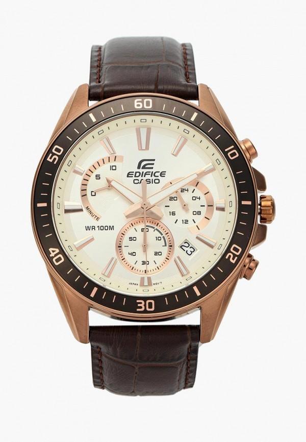Купить Часы Casio, CASIO EDIFICE EFR-552GL-7A, CA077DMXEM39, коричневый, Осень-зима 2018/2019