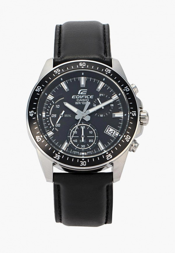 Купить Часы Casio, Casio EDIFICE EFV-540L-1A, CA077DMYEA40, черный, Осень-зима 2018/2019