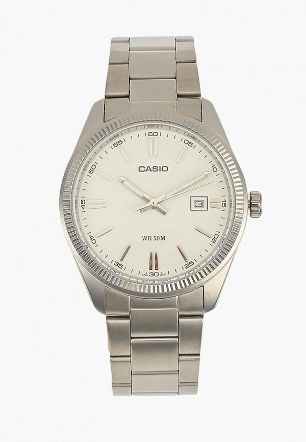 Купить Часы Casio, CASIO Collection MTP-1302PD-7A1, CA077DMYUG42, серебряный, Осень-зима 2018/2019