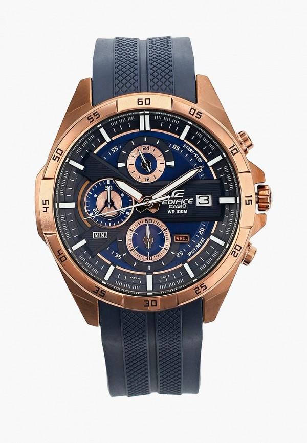 Купить Часы Casio, CASIO EDIFICE EFR-556PC-2A, ca077dmyug52, синий, Весна-лето 2019