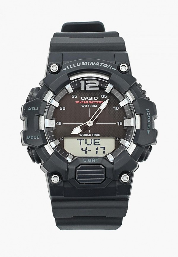 Купить Часы Casio, CASIO Collection HDC-700-1A, ca077dubijx2, черный, Весна-лето 2019