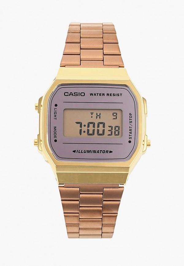 Купить Часы Casio, Collection A-168WECM-5E, ca077ducfxu2, золотой, Осень-зима 2018/2019