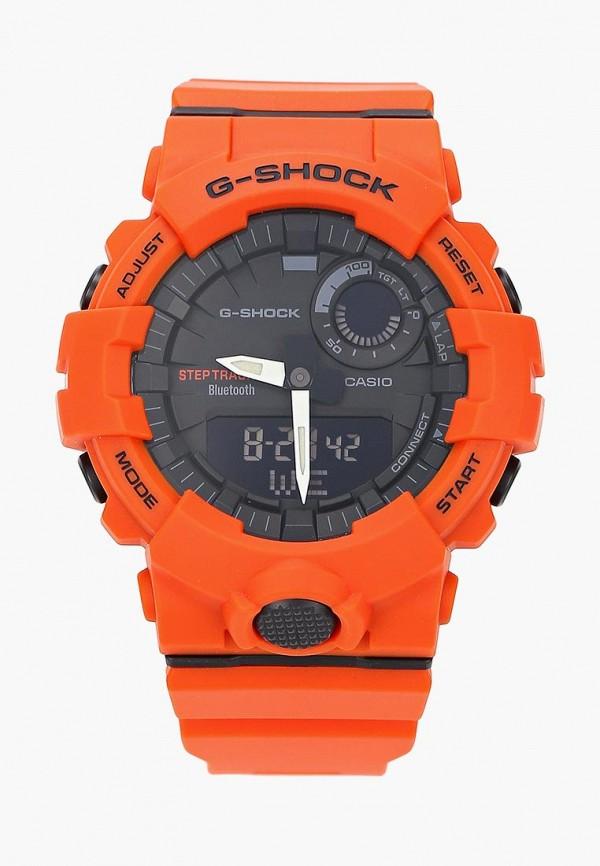 Купить Часы Casio, Casio G-SHOCK GBA-800-4A, ca077ducqii1, оранжевый, Весна-лето 2019