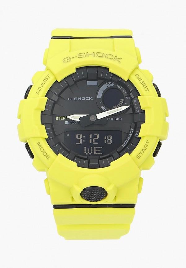 женские часы casio, желтые