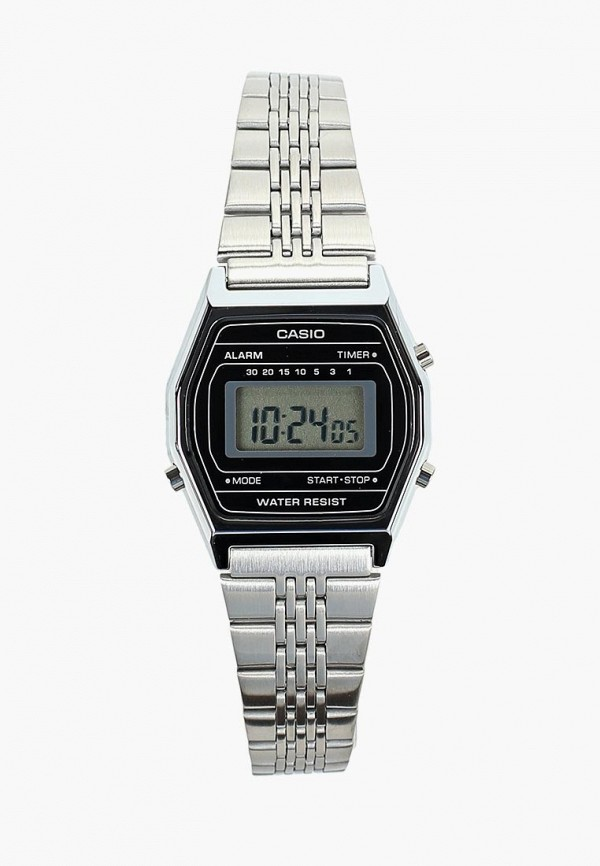Купить Часы Casio, CASIO Collection LA690WEA-1EF, ca077duczwv4, серебряный, Осень-зима 2018/2019