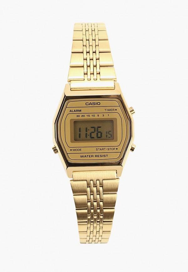 Купить Часы Casio, CASIO Collection LA690WEGA-9EF, ca077duczwv5, золотой, Осень-зима 2018/2019